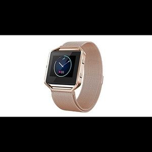 Accessories - Fitbit Blaze with rose gold band